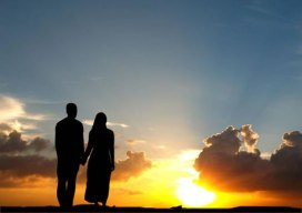 siluet-suami-istri-ikhwan-akhwat-matahari