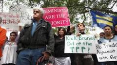 brunai-protest